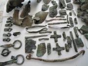 Клад лучника раннего средневековья