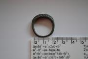 Бронзовый ложновитой  перстень Киевской Руси