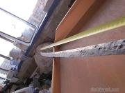 Клинок тюрко-половецкой сабли 13-14 века