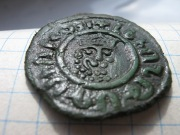 монета армянского короля Левона I (1198 - 1219)