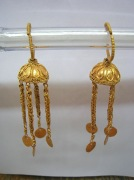 Серьги, золото, средневековье Кавказа