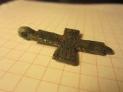 Крестик-кощейчик бронзовый Киевской Руси