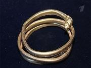Сарматский золотой браслет