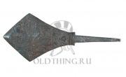 наконечник стрелы периода Средневековья (XI - XIII вв.). Длинна: 75 мм