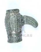 Навершие плети периода Киевской Руси (XI-XII вв.) Литьё,белая бронза. Размер: 35 х 18 мм
