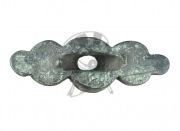 деталь оглавия рукояти меча, периода Киевской Руси ( XI - XII в.в.) Бронза. Размеры 55 х20 мм.