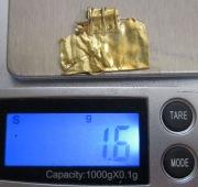 золотая Привеска