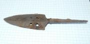 Хазарский трёхлопастной наконечник 7 века