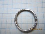 Серебряное кольцо, датируется от Киевской Руси до 15 века