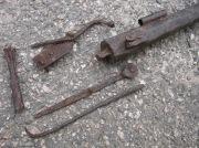 Мушкет фитильное ружье металлические части