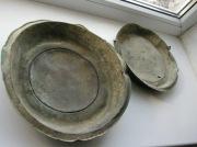 Медные тарелки