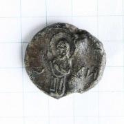 Свинцовая печать с родовым знаком Рюриковичей