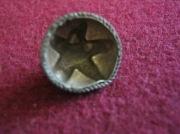 Серебряная накладка с зернью