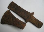 Два древних топорика
