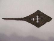 Наконечник стрелы с фигурным прорезным крестом