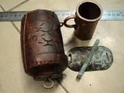 Домик печати, копьё, стакан