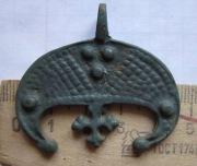 Большая лунница, скорее всего украшение коня