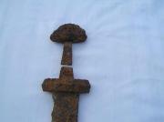 рукоять  меча Викингов