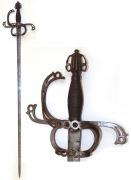 Шпага немецкая образца XVI - XVII века