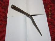 Большой скифский железный наконечник копья