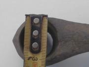 бронзовый вислообушный топор