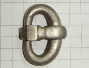 серебряная пряжка Черняховской Культуры