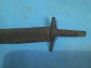рукоять средневековой сабли