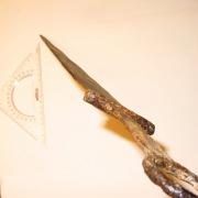Сарматский меч с кольцом на навершии