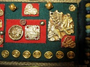 Носимые а также пришивные скифские золотые украшения