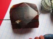 Бусы, материалы: стекло, камень