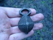 Бронзовый кистень Киевской Руси 12-13 век - шедевр