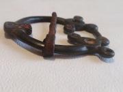 Сюльгама Киевской культуры, бронзовая шип железный