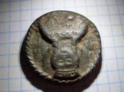 Иконка византийская бронзовая Екатерина-великомученница (Синайская)
