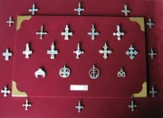 колекция крестиков и подвесок Киевской Руси