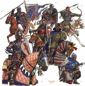 Реконструкция возможной экипировки войск князя Александра Ярославича и его союзников на время битвы при Чудском озере