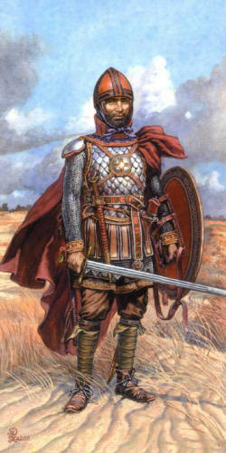 Русский конный воин. 14 век