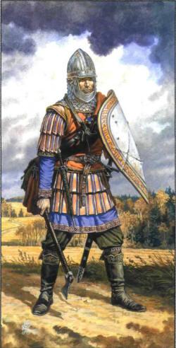 Новгородцы времен Куликовской Битвы