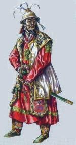 Костюм знатного монгола