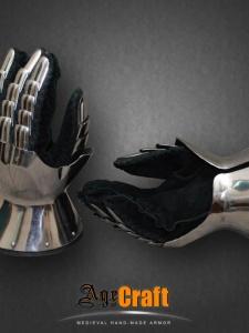 Латные перчатки «Песочные Часы»