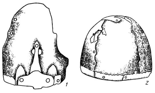 Шлем Манвеловка (прорисовка)
