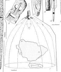 Шлем  из Житимакского могильника