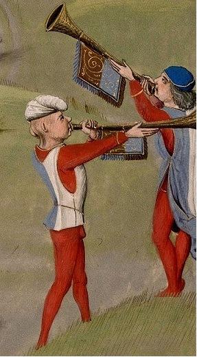трубачи в средневековых армиях