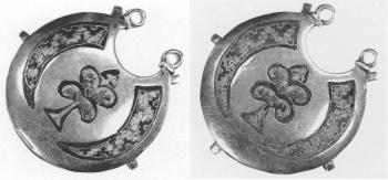Золотые древнерусские украшения
