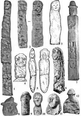 Каменные изваяния из восточнославянского ареала