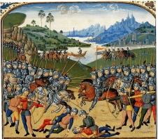 сражение Западная Европа конец 15 века.