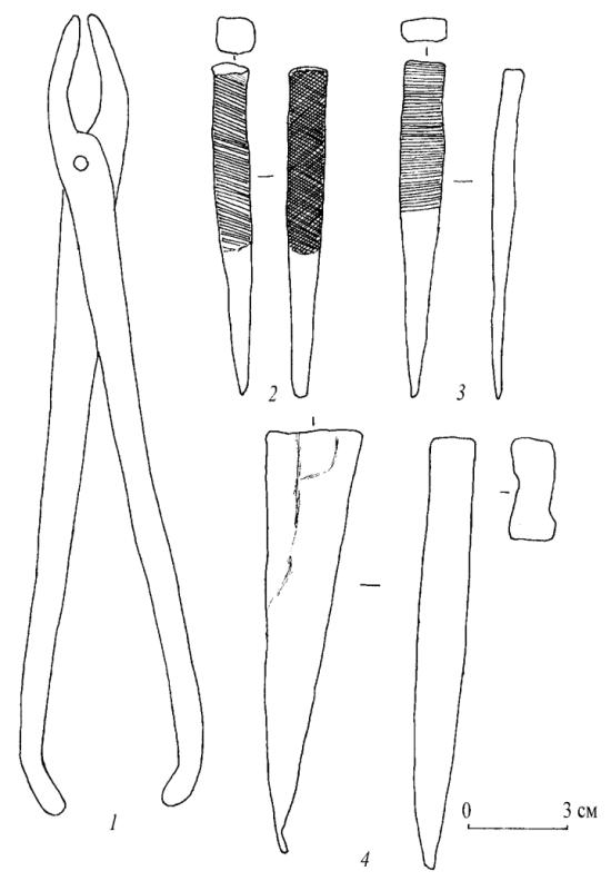 Инструменты чжурженьского кузнеца