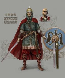 Компьютерная реконструкция внешности князя Святослава Игоревича