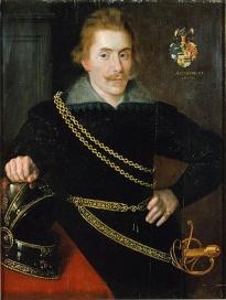 Якоб Делагарди (Jacob De la Gardie) Портрет из Национального музея Швеции 1606