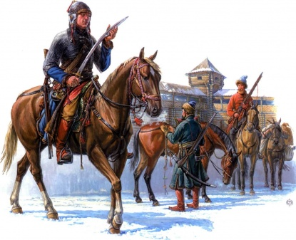 Луцкий дворянин, новик Михаил Петров сын Лукомский с боевыми холопами во взятом Невеле