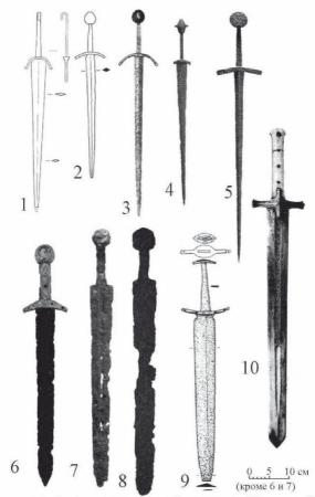 Средневековые кинжалы